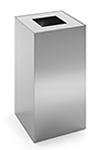 Configuración de Papelera de Oficina Riga Inox de Mobles 114 : Tapa - Aluminizada