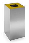 Configuración de Papelera de Oficina Riga Inox de Mobles 114 : Tapa - Ocre