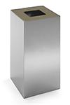 Configuración de Papelera de Oficina Riga Inox de Mobles 114 : Tapa - Beige