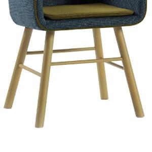 Configuración de Silla de Diseño Collar 296.41.M de SANCAL : Tipos de Base - Collar patas de madera