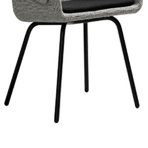 Configuración de Silla de Diseño Collar 296.41.M de SANCAL : Tipos de Base - Collar patas de metal negras