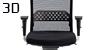 Configuración de Silla Operativa Se:do ap-122 de Sedus : Tipos de Brazo - - Ergonomica brazos 3D