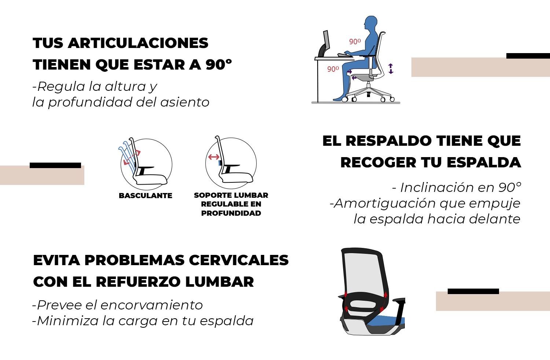ayudamos a los profesores a teletrabajar con nuestros consejos de ergonomía